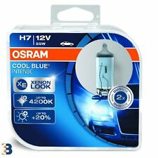 2x OSRAM H7 12V PX26d Cool Blue Intense 64210CBI-HCB Xenon Look Headlight Bulbs