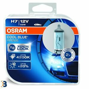 2x OSRAM H7 12V PX26d Cool Blue Intense 64210CBI-HCB Xenon Look Headlight Bulbs