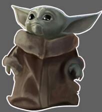 Baby Yoda Star Wars The Mandalorian Vinyl Decal Window Sticker Die Cut