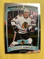 2019-20 OPC Platinum Marquee Rookie #186 Dominik Kubalik Chicago Blackhawks RC