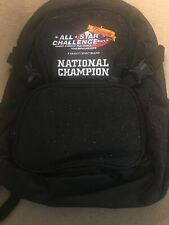 New All Star Challenge National Chapionship Backpack Black Sparkly