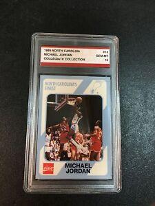 1989 North Carolina Collegiate #13 Michael Jordan Gem-Mt 10 Card