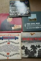 Lot of 5 Military music, voices and sounds from past Wars and presidents LPs
