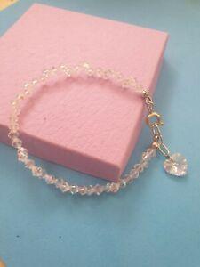 Crystal AB bracelet made with Swarovski Elements Handmade - any colour