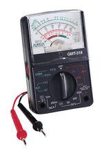 GB  Analog Multi-Tester  Black, GMT318