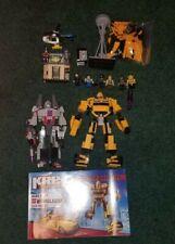 Kre-o Transformers lot Bumblebee Megatron
