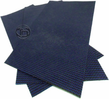 3 Pack MESH Swimming Pool Safety Cover BLUE Repair Patches with Self Adhesive