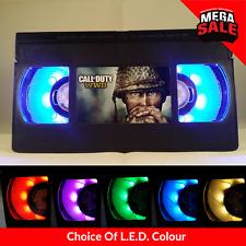 📼 Retro VHS USB Lamp | LED Light, Xmas Call Of Duty WW2, PS4, Xbox Gift