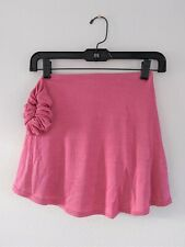 New Mondor Figure Skating Skirt Skort Pink Child 12-14