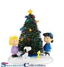 Department 56 Peanuts Village O'Christmas Tree 808997