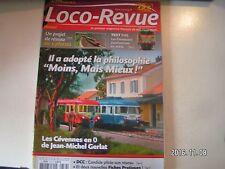 **s Loco Revue n°779 Un wagon bungalow / la 2D2 5400 Jouef revisitée