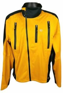 Pearl Izumi Barrier Pro WXB Jacket Orange Black Mens Size XL