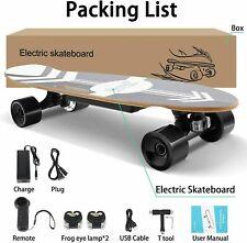 77cm Elektro Skateboard Elektrisch Longboard E-Scooter mit Fernbedienung 350W