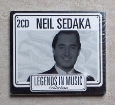 "CD AUDIO MUSIQUE / NEIL SEDAKA ""LEGENDS IN MUSIC COLLECTION "" 2X CD COMPILATION"