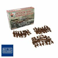 WW2 Japanese Army Aviation Pilots and Ground Crew - Red Box Miniatures - RB72052