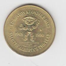 Kanada  Alberta  Edmonton Klondike Days 1980  Good for 1 $  Frank Oliver