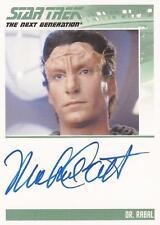 STAR TREK - TNG - HEROES & VILLAINS - MICHAEL CORBETT as DR RABAL  VL NNO - AUTO