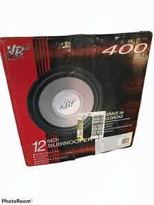 VR 3 VS 120 12 Inch Car Subwoofer Speaker 400 Watt R.M.S. New In Original Box