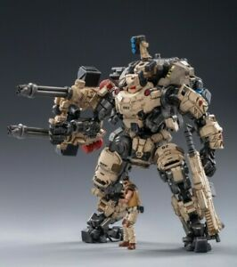 (In-Stock @5zeroToys) JOYTOY 1:25 Scale Steel bone Armor (Sand)With Pilot