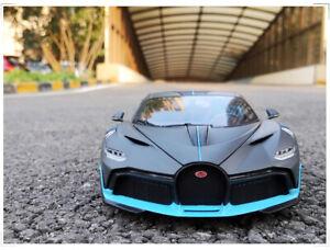 Bburago 1/18 Diecast Alloy Car Model For Bugatti Chiron Divo collection (no box)