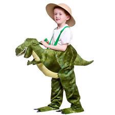 enfants Dinosaure Ride on Transport COSTUME VERT Déguisement DE LUXE 5-7 ans