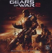 GEARS OF WAR 2 The Game Soundtrack OST CD (New & Sealed) Steve Jablonsky