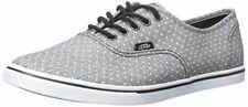 Vans Unisex Adult Authentic Lo Pro Skate Shoes Dot Black Mens 8.5 Womens 10
