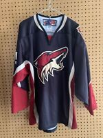 Phoenix Coyotes Alternate Third Jersey Adult Medium NHL Arizona  Ships Free