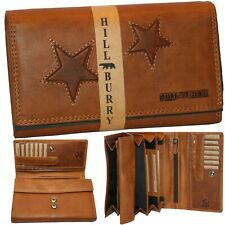 Geldbörse Damen Frauen Geschenk Lederbörse ✪ Hill Burry ✪  zwei Sterne