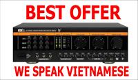 speaking Vietnamese Better Music Builder DX-388 D(G4) 900W Pro Mixing Amplifier