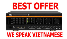 speaking Vietnamese Better Music Builder DX-388 D(G4) 900W Pro Mixing Amplifier