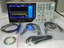 2CH 100MHz 1GS/s Oscilloscope Arbitrary Function Signal Generator 25MHz USB 2in1