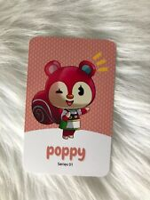 Amiibo NFC Karte Animal Crossing Poppy/Trita 52