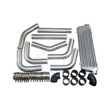 "Universal Black Couplers 2.5"" Aluminum Piping Kit+ 28x7x2.5 Intercooler"