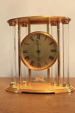 HOUR LAVIGNE : Grande Horloge en Bronze dorée