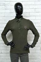 Polo AERONATICA MILITARE Donna Woman Slim Taglia M Maglietta Shirt Elastica