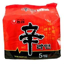 [KOREA FOOD] NONGSHIM Shin Ramen Ramyun (Gourmet Spicy) (5pcs)