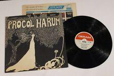ROCK PROCOL HARUM SELF TITLED LP RECORD 1967 PRESSING EXCELLENT **