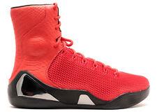 sports shoes f14fa dff00 Nike Kobe IX alta KRM EXT QS Rojas Negras (716993-600) Talla 9.5