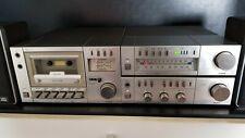FISHER Musik Stereo Anlage Tuner FM-M100 Casette Deck CR-M100 Amplifier CA-M100