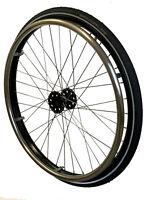 Standart Laufrad 1 paar Rollstuhlräder 24x1  12,7mm Lager