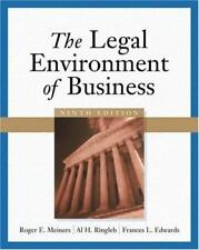 The Legal Environment of Business by Al H. Ringleb, Frances L. Edwards and Roge…