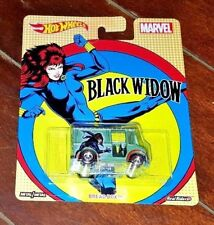 Hot Wheels Real Riders: Black Widow (2016, Mattel, Marvel) Dwh27-4B10