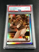 PETE ALONSO 2019 TOPPS CHROME #204 SEPIA REFRACTOR ROOKIE RC PSA 10 METS