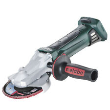 Metabo 18V Cordless Flat-head Angle Grinder (Tool Only) WF 18 LTX 125 Quick (601