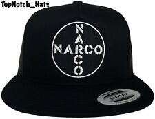 Narco Black And White Trucker Hat Brand New Ships Now !!!