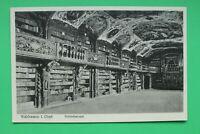 Bayern AK Waldsassen 1937 OPF Kloster Bibliothek Saal Kunst Bücher Gebäude (1