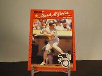 1990 Donruss Mark Mcgwire #697 Baseball Card