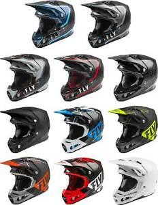 Fly Racing Formula Carbon Helmet - MX Motocross Dirt Bike Off-Road ATV MTB UTV