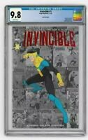 INVINCIBLE #1 SKYBOUND EXCLUSIVE RED FOIL VARIANT CGC 9.8
